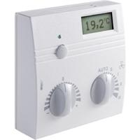Панели управления WRF04 LCD PSTD TRV3, poti_active, FS5, LED green, Thermokon. Артикул 418874