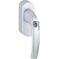 Ручка оконная SRG02 lockable aluminium steel grey, Thermokon. Артикул 665056