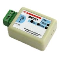 Датчики движения и освещения MSU21+L, Разумный Дом, RS485 Modbus. Артикул MSU21L